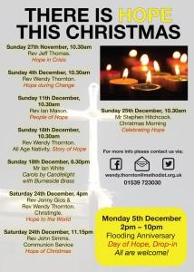 Christmas publicity A5